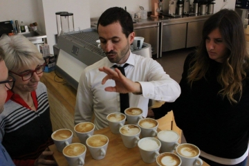 Latte Art Course with Andrea Antonelli 3