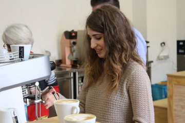 Latte Art Course with Andrea Antonelli 4