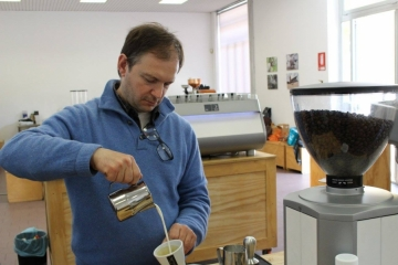Latte Art Course with Andrea Antonelli 5