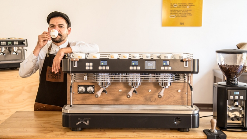 Coffee Pro Project, Fabrizio