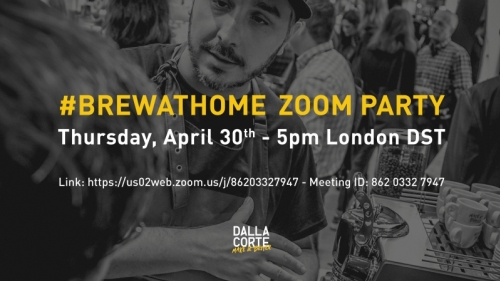 #brewathome Zoom Party