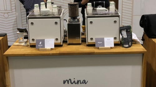 Our Mina Smart Bar at the SCA Expo in Seattle 1