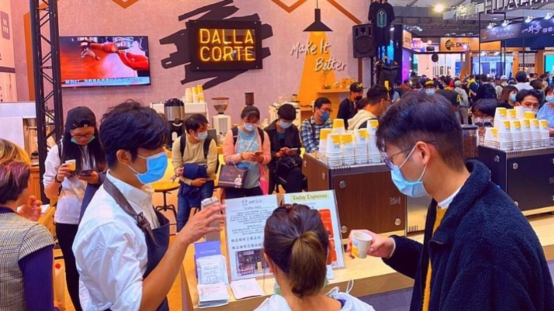 We're at the Taiwan International Coffee Show!