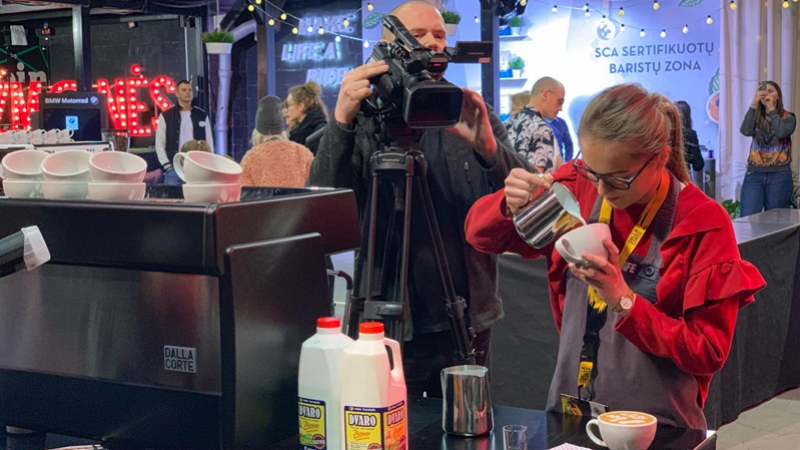 Vilnius Coffee Festival,  where coffee meets fun
