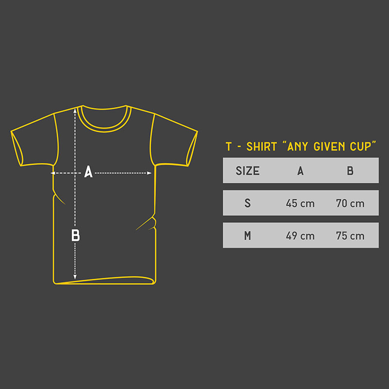 T-shirt Any Given Cup